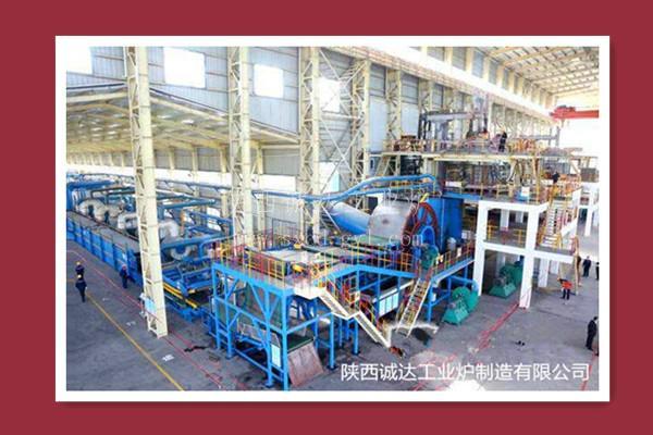 利用工业热熔渣生产矿棉电炉设备